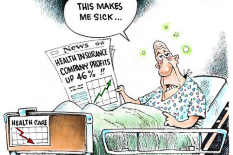 health insurance profit comic